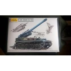 Maquette - HELLER - AMX 13/155 - Echelle 1/35