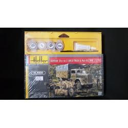 HELLER - 79994 -GERMAN 3 TON 4X2 CARGO TRUCK - Echelle 1/72
