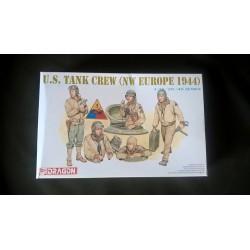 Figurine - DRAGON - US TANK CREW (N.W EUROPE 1944) - Echelle 1/35