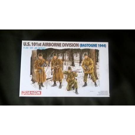 Figurine - DRAGON - US 101ST AIRBORNE DIVISION (BASTOGNE 1944) - Echelle 1/35