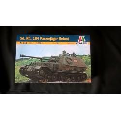 MAQUETTE ITALERI - SDKFZ 184 PANZERJAGER - ELEFANT - ECH 1/35 - GERMAN WWII - REF 211