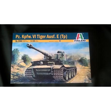 MAQUETTE ITALERI - PZ KPFW VI TIGER AUSF E TP - ECH 1/35 - GERMAN WWII - REF 286