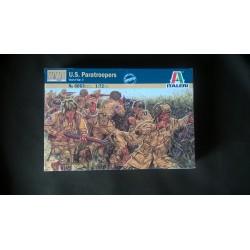 MAQUETTE-FIGURINES- ITALERI - US PARATROOPERS - ECH 1/72- US WWII - REF 6063