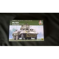 ITALERI - M8 / M20 - WARLORD - ECH 1/56 - 28mm -REF 15759 - US - WWII