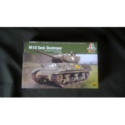 MAQUETTE ITALERI - TANK TD M10 - WARLORD - ECH 1/56 - 28mm -REF 15758 - US - WWII