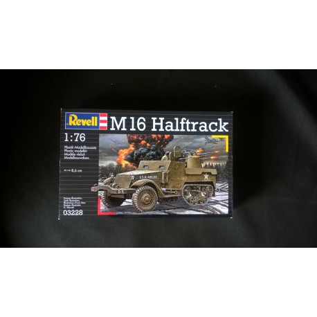 MAQUETTE REVELL - M16 HALFTRACK - ECH 1/76 - REF 03228 - WWII - US