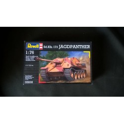 MAQUETTE REVELL - SDKFZ 173 JAGDPANTHER - ECH 1/76 - REF 03232 - WWII - GERMAN