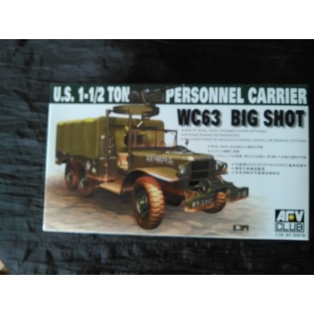 MAQUETTE AFV CLUB - REF AF35S18 - US 3/4 TON 6X6 DODGE TRUCK - WC62/WC63 - ECH 1/35 - WWII - INDOCHINE - ALGERIE