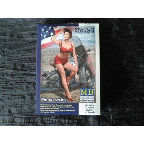 MAQUETTE MB - FIGURINE PIN UP- REF MB24001- ECH 1/24