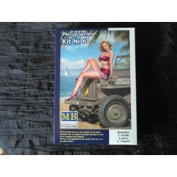 MAQUETTE MB - FIGURINE PIN UP - KIT 6- REF MB24006- ECH 1/24