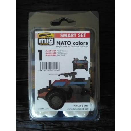 PEINTURE MIG - SMART SET - NATO -REF A-MIG-7114