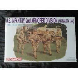 Figurine - DRAGON - US INFANTRY - 2ND ARMORED DIVISION - REF 6120 - Echelle 1/35