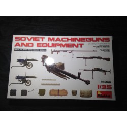 MAQUETTE - MINI ART - SOVIET MACHINE GUNS AND EQUIPEMENT - REF 35255