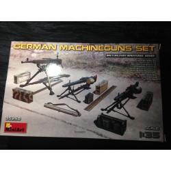 MAQUETTE - MINIART- GERMAN MACHINEGUNS SET - REF 35250 - WWII - ECH 1/35 -