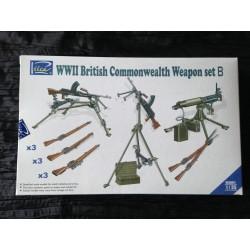 MAQUETTE RIICH - REF 30011 - SET B - WWII BRITISH WEAPON -