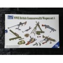 MAQUETTE RIICH - REF 30010 - SET A - WWII BRITISH WEAPON -