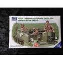 MAQUETTE RIICH - REF 35028 - BRITISH UNIVERSAL CARRIER CREW 1943-1945- WWII -ECH 1/35