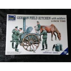 MAQUETTE RIICH - REF 35045- GERMAN FIELD KITCHEN -ECH 1/35