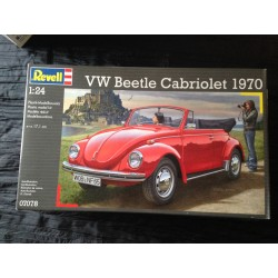 MAQUETTE REVELL - VW BEETLE CABRIOLET - ECH 1/24 - REF 07078
