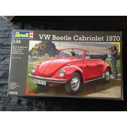 MAQUETTE REVELL - VW BEETLE CABRIOLET - ECH 1/24 - REF 07078