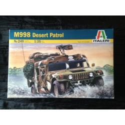 MAQUETTE ITALERI - DESERT PATROL - ECH 1/35- REF249 - HUMMER US