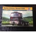 MAQUETTE ITALERI - BERLIET R352 CH / RENAULT R360 - ECH 1/24- REF3902 - TRUCK FRENCH