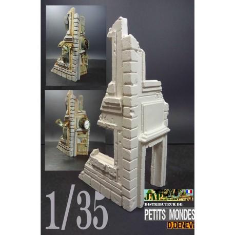 MAQUETTE DIORAMA - COIN DE RUE - PETITS MONDE - REF JAP PM 35500 - ECH 1/35