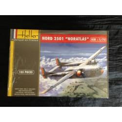MAQUETTE HELLER - AVION - NORATLAS - REF 80374 - ECH 1/72