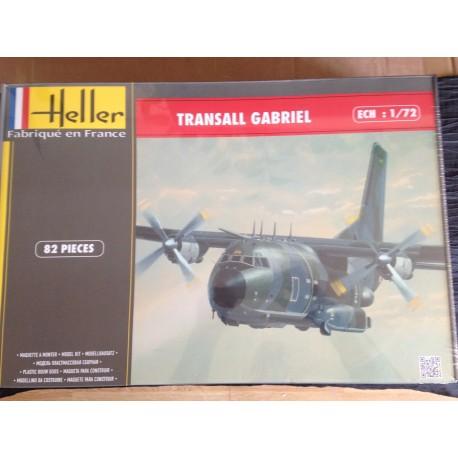 MAQUETTE HELLER - AVION - TRANSALL GABRIEL - REF 80387 - ECH 1/72