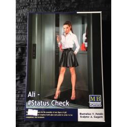 MAQUETTE FIGURINE - MASTER BOX - ALI STATUS CHECK - ECH 1/24 -