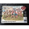 MAQUETTE FIGURINE - MASTER BOX - FRENDLY BOXING-ECH 1/35 -