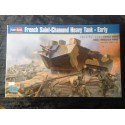 MAQUETTE HOBBY BOSS - FRENCH SAINT-CHAMOND HEAVY TANK EARLY - ECH 1/35 - REF 83858 - WWI
