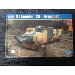 MAQUETTE HOBBY BOSS - FRENCH SCHNEIDER CA - ARMORED- ECH 1/35 - REF 83862 - WWI