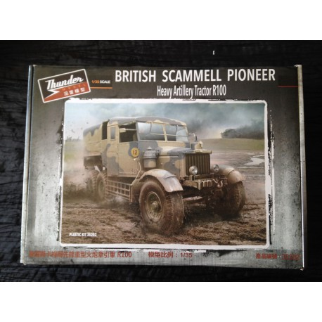 MAQUETTE THUNDER MODEL - BRITISH SCAMMELL PIONEER - REF 35202- ECH: 1/35