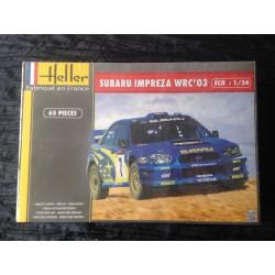 Maquette - HELLER -SUBARU IMPREZA WRC 03 - Echelle 1/24