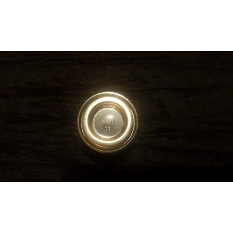 Peinture HUMBROL - N°11 - argent métallisé brillant
