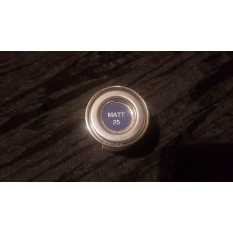 Peinture HUMBROL - N°25 - bleu mat
