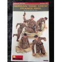 MAQUETTE FIGURINE MINI ART - GERMAN TANK CREW FRANCE 1944 - SCALE 1/35 - REF 35252