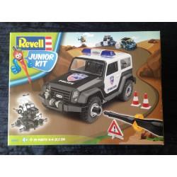 MAQUETTE REVELL JUNIOR - 4X4 POLICE - ECH 1/20 - REF 00807