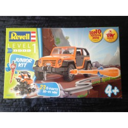 MAQUETTE REVELL JUNIOR - 4X4 ORANGE - ECH 1/20 - REF 00803