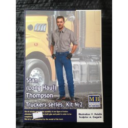 MAQUETTE FIGURINE - MASTER BOX - STAN THOMPSON- ECH 1/24 -