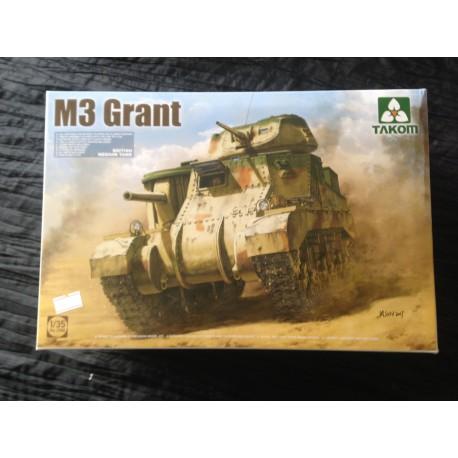MAQUETTE TAKOM - M 3 GRANT MEDIUM TANK - REF 2086 - ECH 1/35