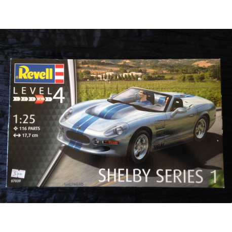 MAQUETTE REVELL - SHELBY SERIES 1 - ECH 1/24 - REF 07039