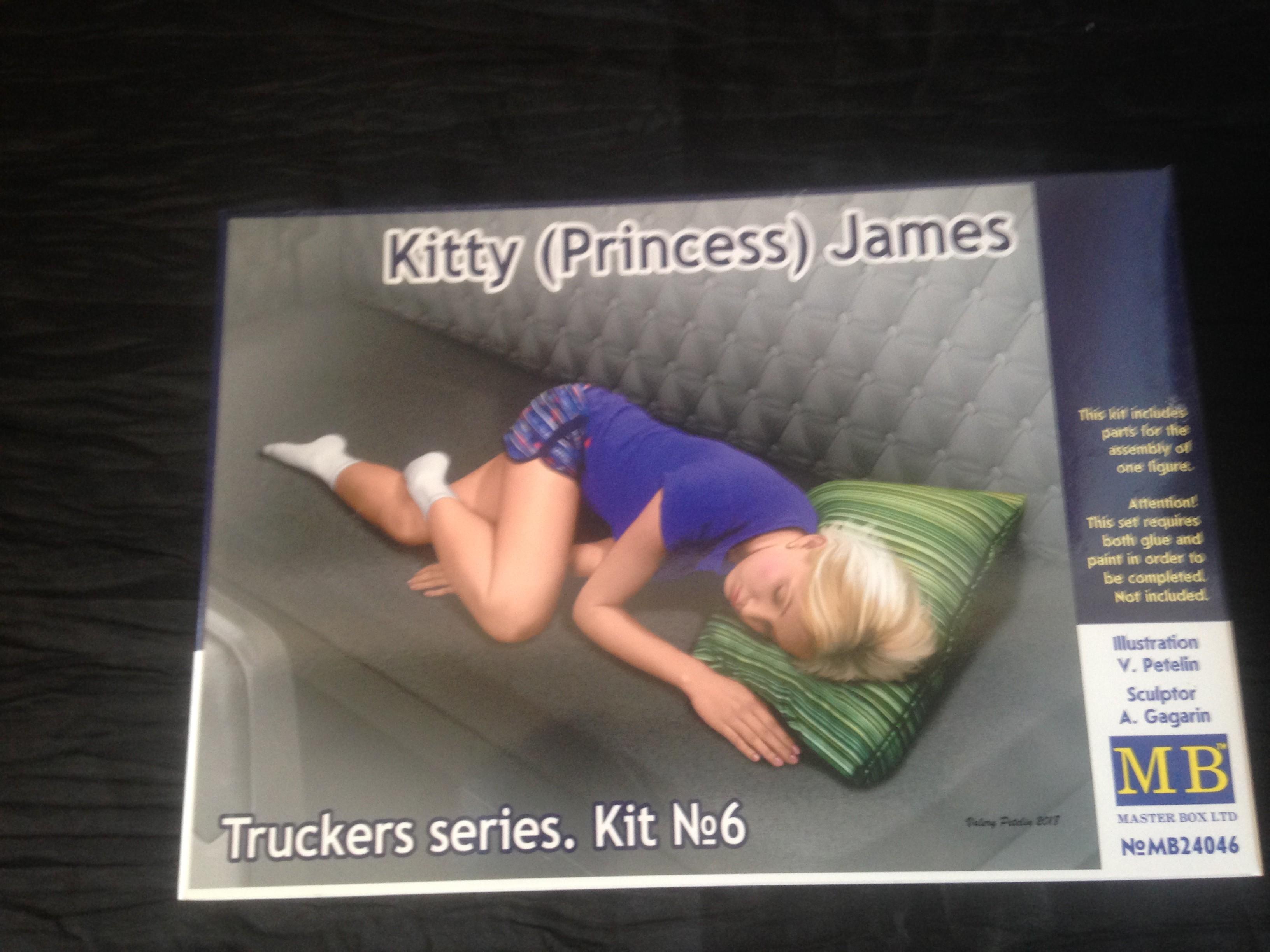 MB24046 Truckers series.Kitty Jemes in 1:24 Princess Master Box Ltd