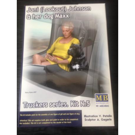 MAQUETTE FIGURINE - MASTER BOX - JONI JOHNSON ECH 1/24 -REF MB 24045