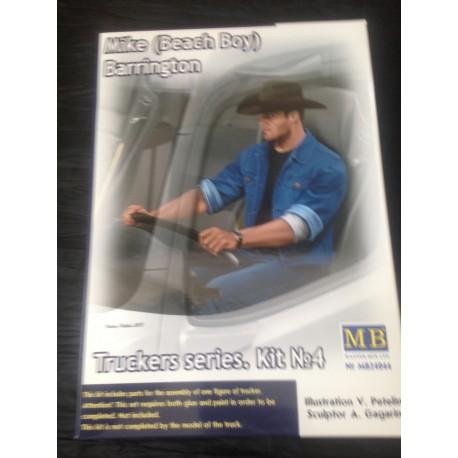 MAQUETTE FIGURINE - MASTER BOX - MIKE BARRINGTON - ECH 1/24 -REF MB 24044