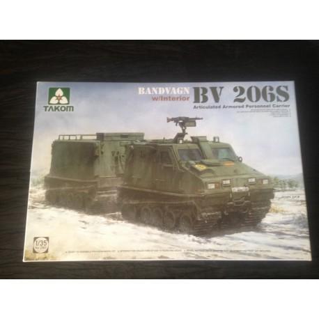 MAQUETTE TAKOM - BF 206 S - ECH 1/35 - REF TAK 2083