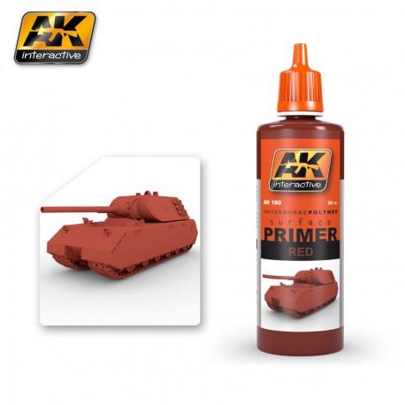PEINTURE AK - PRIMER RED - AK 180 - ROUGE ANTIROUILLE