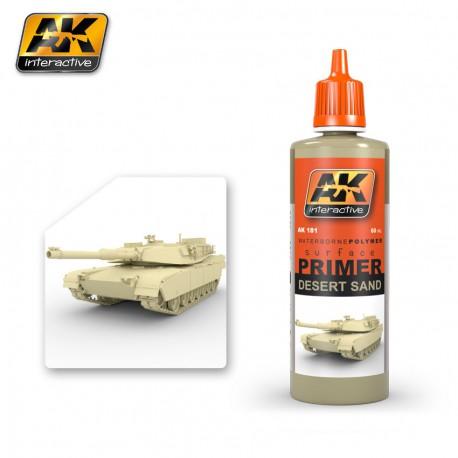 PEINTURE AK - PRIMER DESERT SAND - AK 181 -