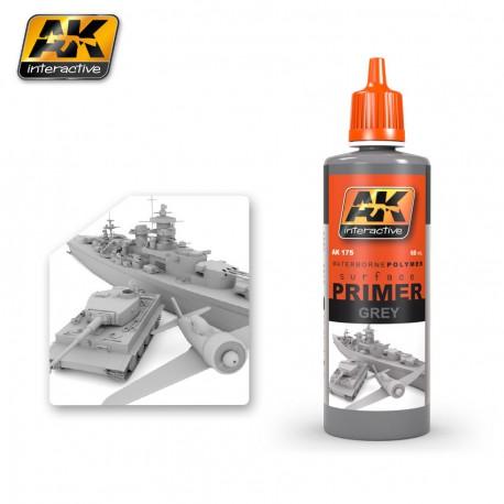 PEINTURE AK - PRIMER GREY - AK 175 -